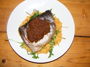 Trout tapenade