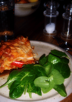 Rercy's Roast Vegetable and Chorizo Lasagne