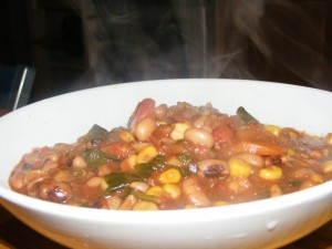 I made this version contained sweetcorn. I much prefer it without