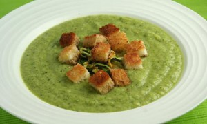 A reader's courgette soup. Photo from The Guardian.