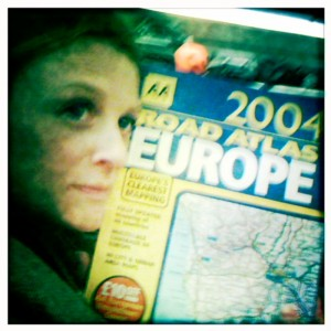 I never thought I'd need a map of Europe to get home!