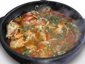 Moqueca fish stew from Bahia 
