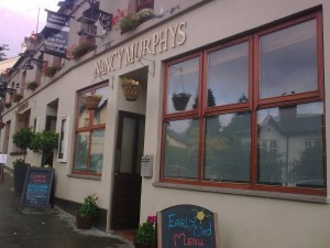 Nancy Martin's pub, Enniskerry, Co. Wicklow: one of the most unpleasant meals I've ever had