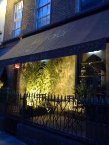 Dada Moroccan restaurant on South William Street