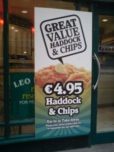 Forget the special offers: are fish and chips overpriced? And does it mean that we're DOOMED?