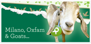 Milano, Oxfam and Goats
