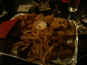 Pub party food platter 2