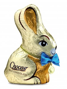 Choceur bunny from Aldi: €1.69, 150g
