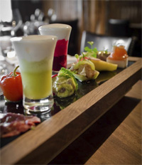 The raw tasting menu at Rustic Stone. Photo from: www.facebook.com/RusticStone.ie