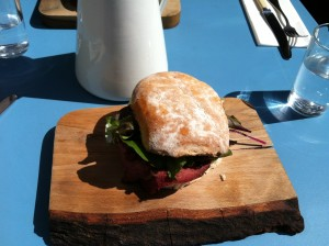 Spiced beef blaa, Hatch and Sons, 15 Stephen's Green