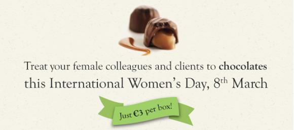 Chocolates for International Women's Day