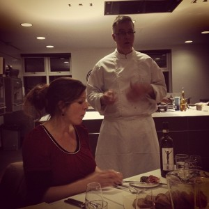 Wine expert Laura and head chef Niall talk us through the wine and food pairing at dinner